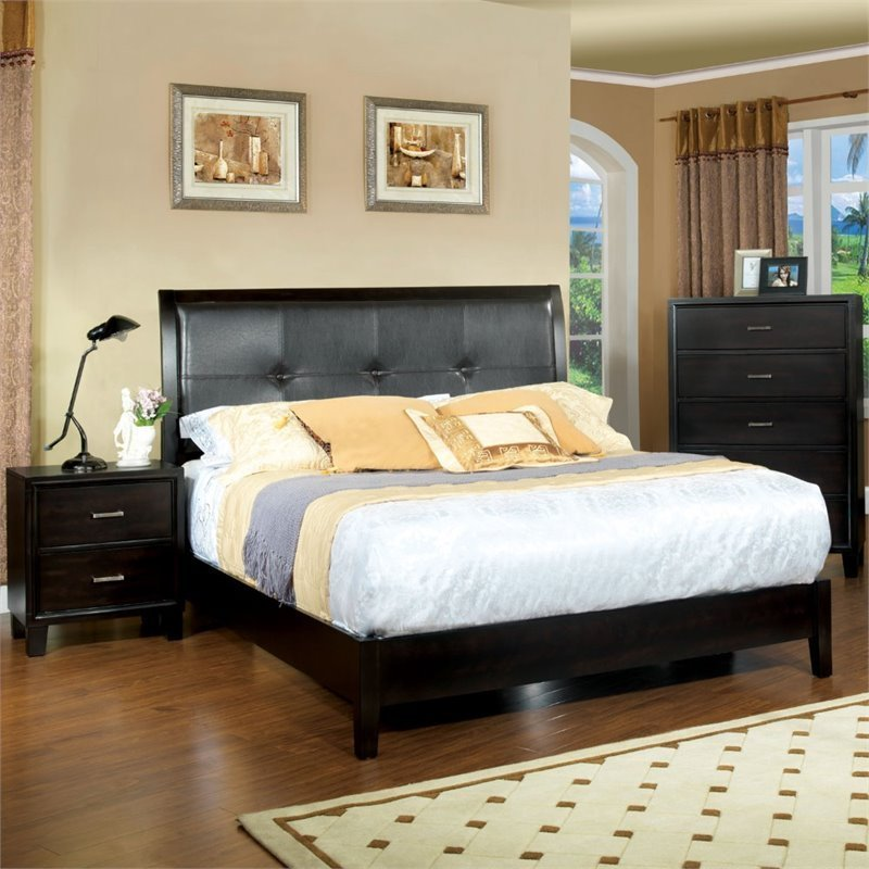 Best Furniture Of America Muscett 3 Piece Full Bedroom Set In With Pictures