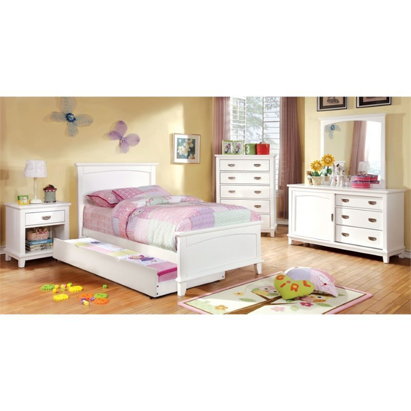 Best Furniture Of America Hailey 4 Piece Full Bedroom Set In With Pictures