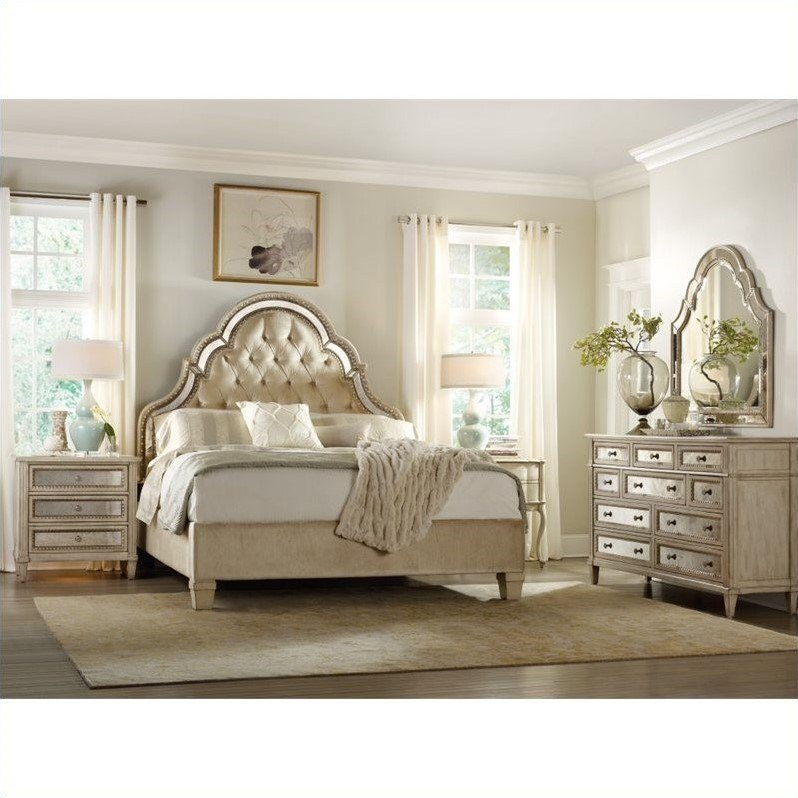 Best H**K*R Furniture Sanctuary 6 Piece Bed Bedroom Set In With Pictures