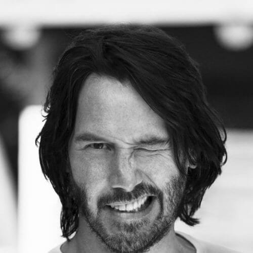 Free 45 Hottest Keanu Reeves Hair Styles That Prove He S Wallpaper