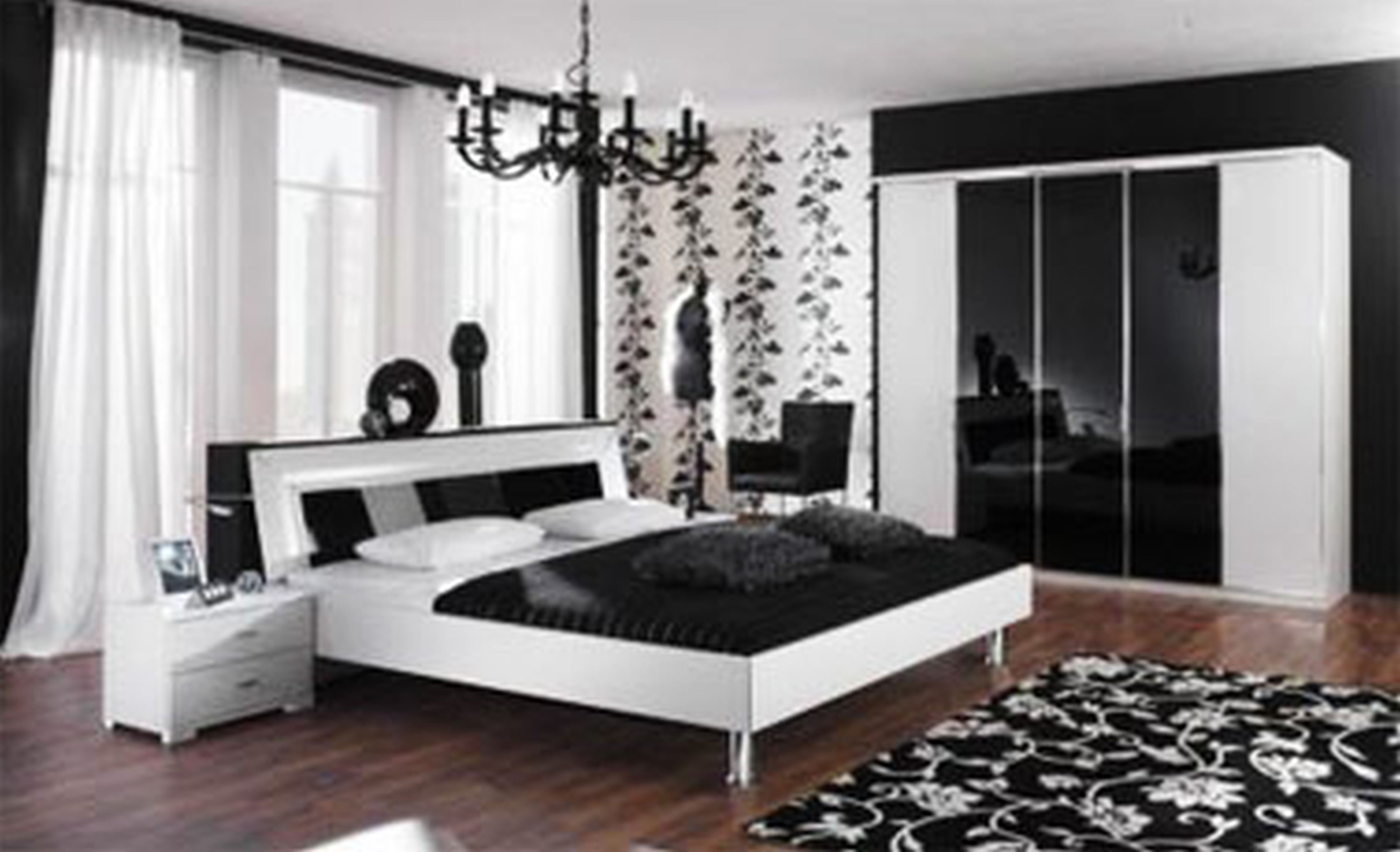 Best 3 Black And White Bedroom Ideas Midcityeast With Pictures