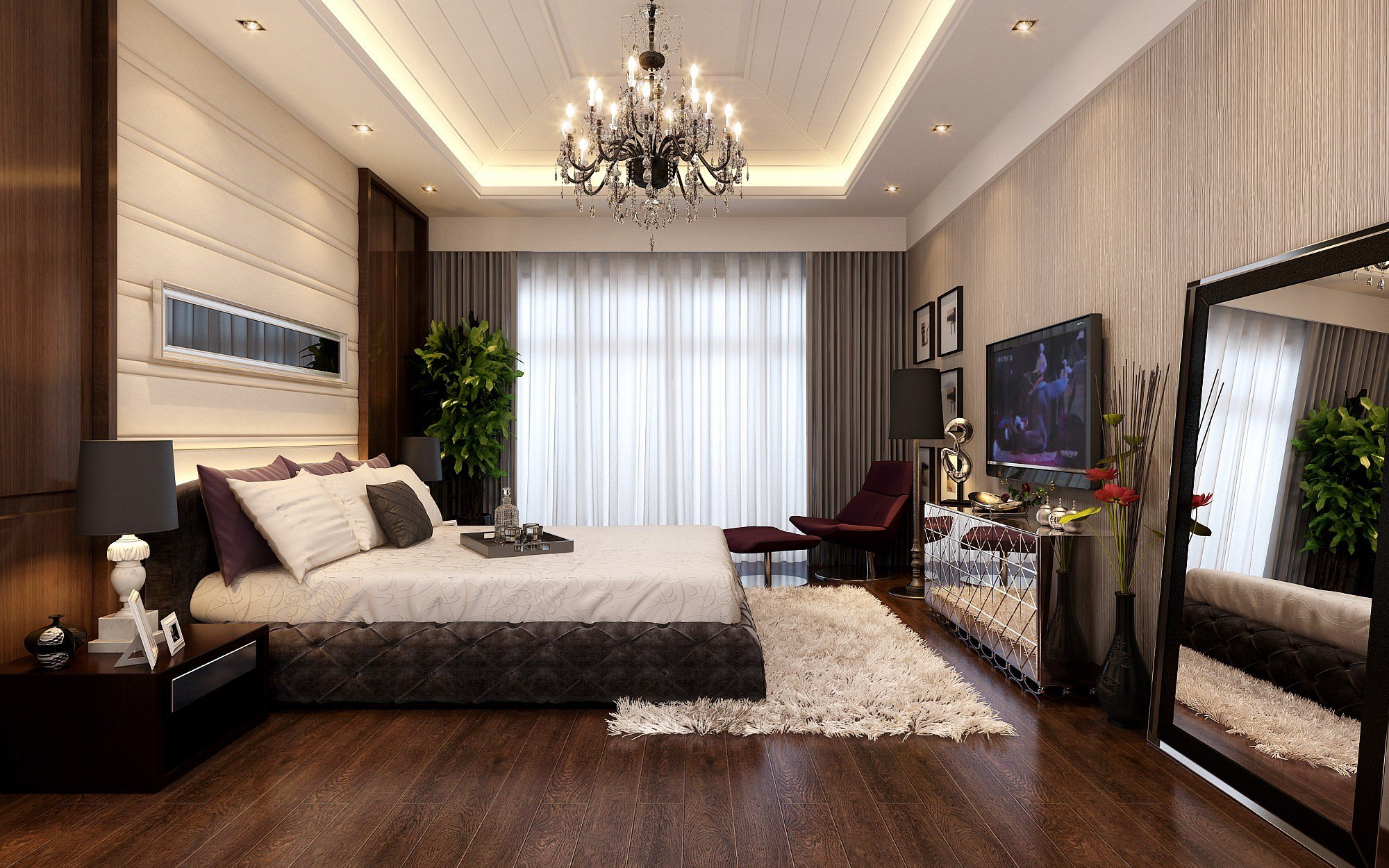 Best 20 Gorgeous Bedrooms With Big Mirrors With Pictures