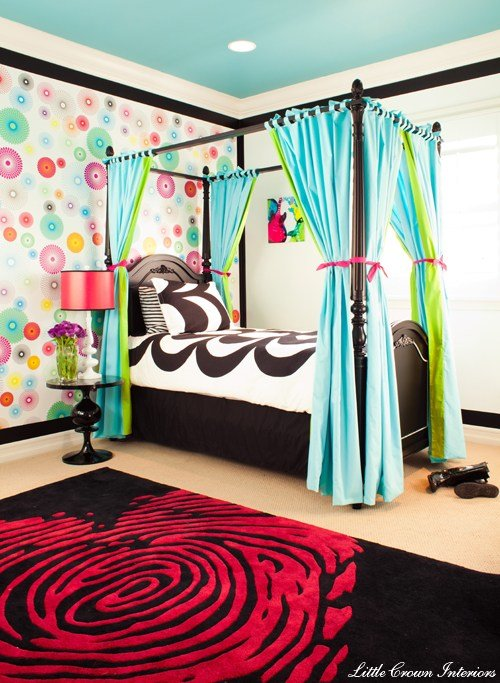 Best Crazy Colorful Girl S Bedroom Project Nursery With Pictures Original 1024 x 768