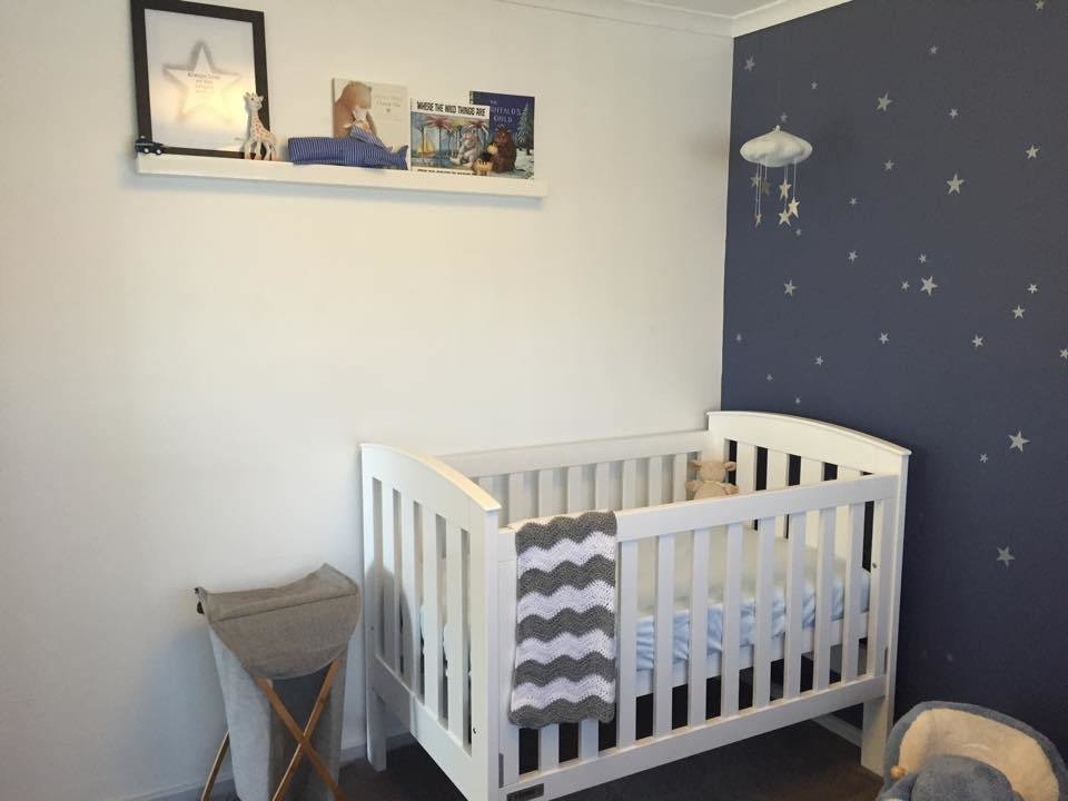 Best Starry Nursery For A Much Awaited Baby Boy Project Nursery With Pictures