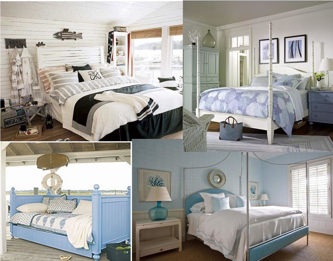 Best Seaside Theme Bedroom Purvaai Home Decor With Pictures