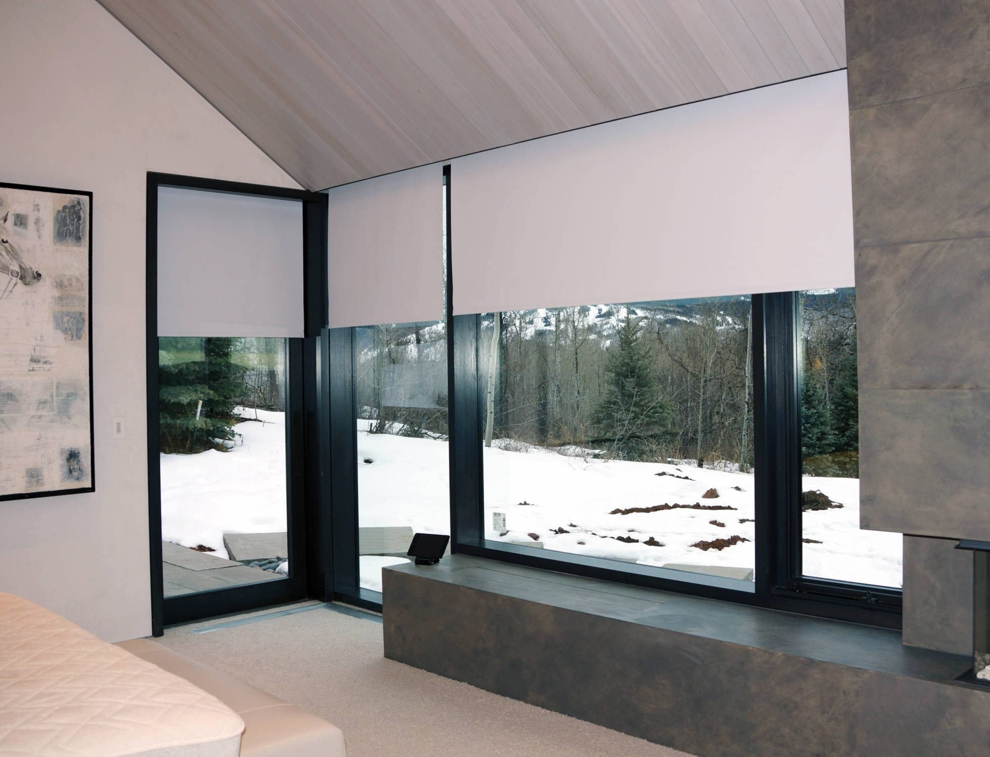 Best Blackout Shades Fabric Innovative Openings With Pictures
