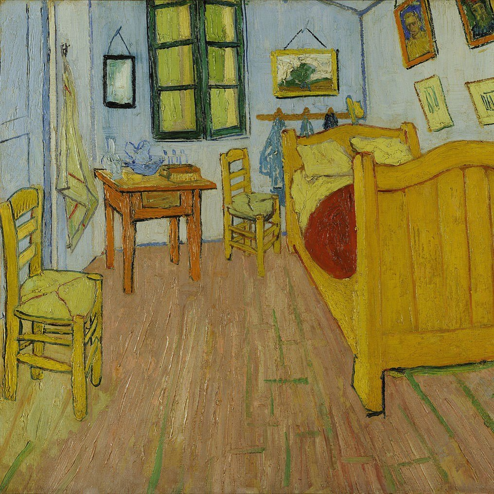 Best Artists Replicate Vincent Van Gogh S Bedroom In A Chicago With Pictures