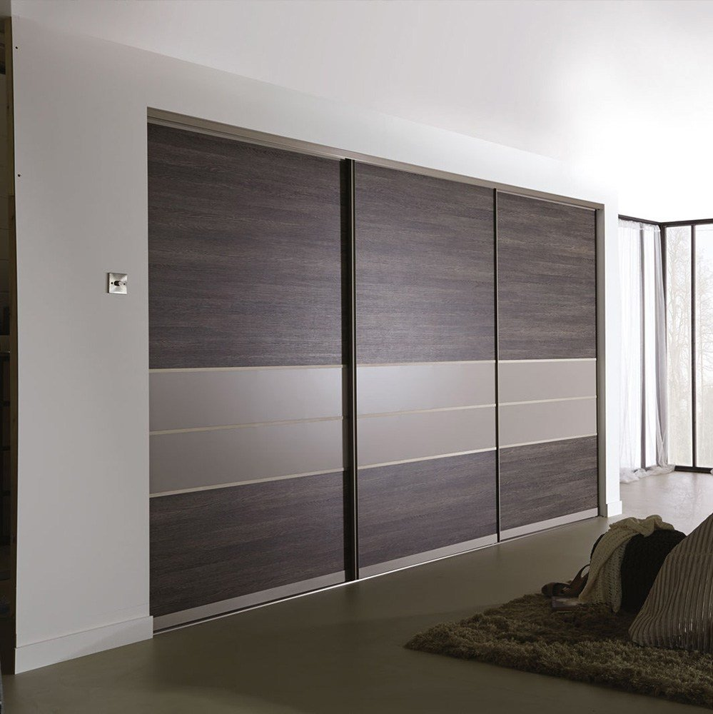 Best Wooden Almirah Designs In Bedroom Wall Double Color With Pictures