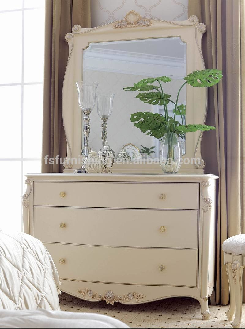 Best Ym020 Luxury Antique Elegant French Ivory White Solid Wood With Pictures
