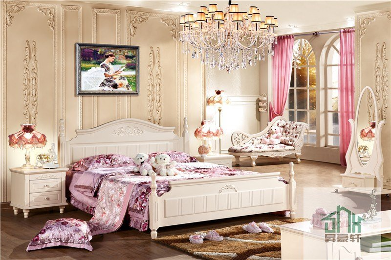 Best Fancy Bedroom Furniture Bed Set Ha 827 Double Modern With Pictures