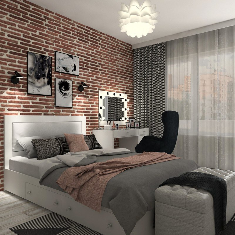 Best 3D Model Modern T**N Bedroom Interior Turbosquid 1310231 With Pictures