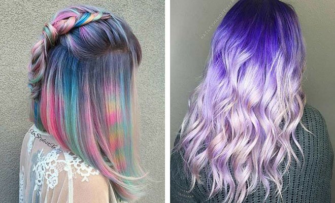 Free 21 Pastel Hair Color Ideas For 2018 Stayglam Wallpaper