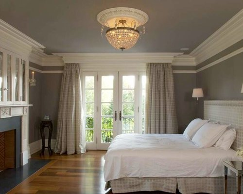 Best Curtain Crown Molding Design Ideas Remodel Pictures Houzz With Pictures