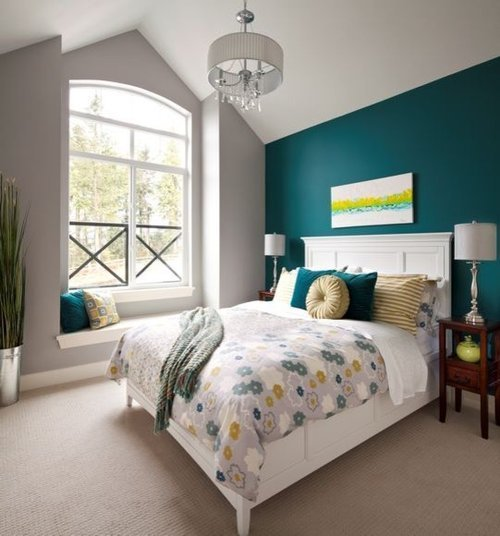 Best Teal Grey Bedroom Ideas Pictures Remodel And Decor With Pictures