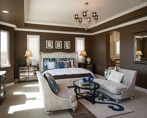 Best Dark Brown Wall Color Design Ideas Remodel Pictures Houzz With Pictures
