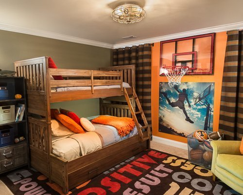 Best Basketball Bedroom Houzz With Pictures