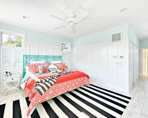 Best Turquoise And Coral Houzz With Pictures