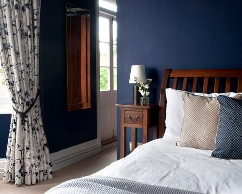 Best Dark Blue Bedroom Ideas Pictures Remodel And Decor With Pictures