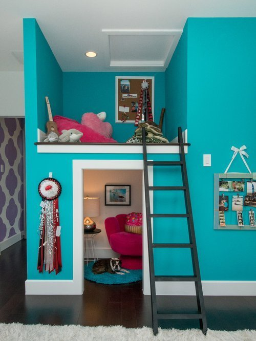 Best Cool T**N Hangout Rooms Houzz With Pictures