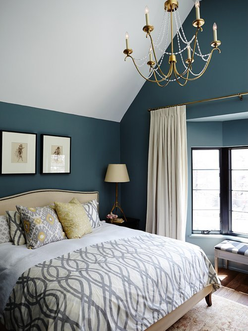 Best Teal Bedroom Houzz With Pictures
