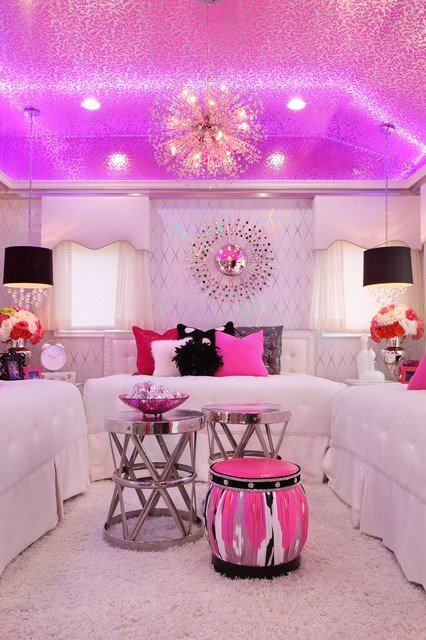 Best Glam Dance Studio Contemporary Bedroom Los Angeles With Pictures