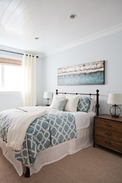 Best Coastal Luxe Beach Style Bedroom Orange County By With Pictures