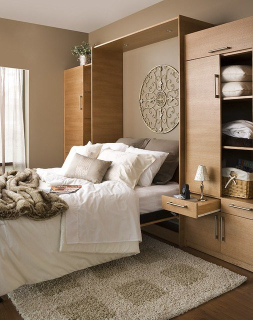 Best Contemporary Space Saver Contemporary Bedroom Vancouver By Murphy Wall Beds Hardware With Pictures