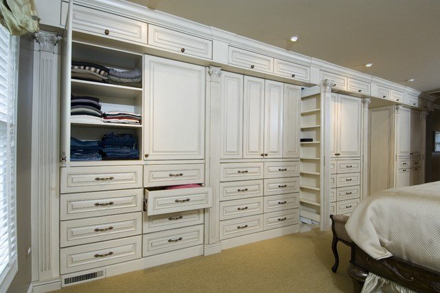 Best Master Bedroom Cabinetry Traditional Closet Chicago By Bh Woodworking With Pictures
