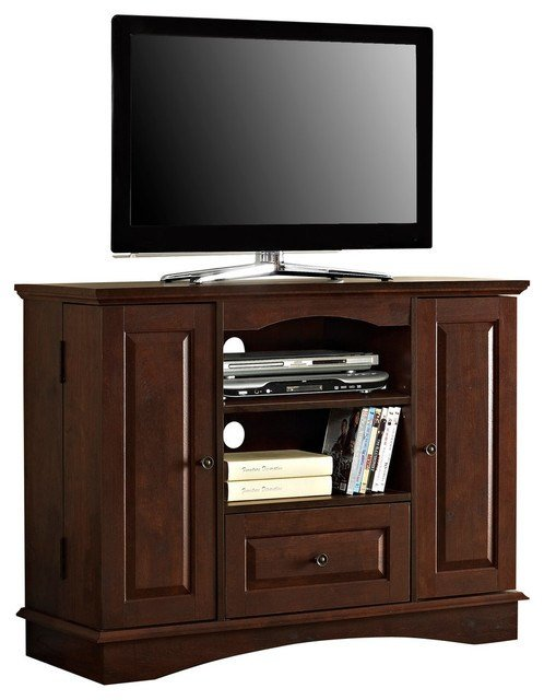 Best Walker Edison 42 In Bedroom Tv Console With Media Storage With Pictures