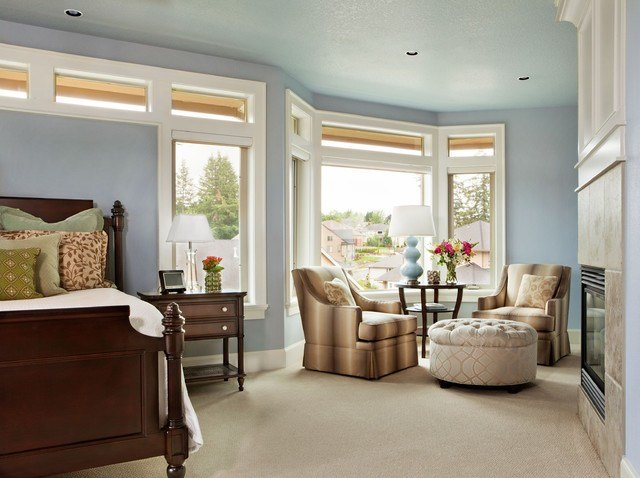 Best Basic Sophisticated Hues Traditional Bedroom Portland By Garrison Hullinger Interior With Pictures