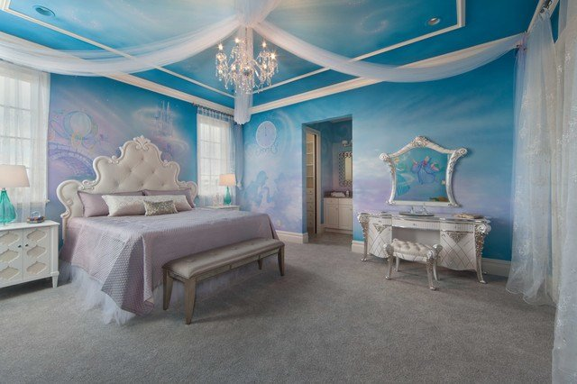 Best Disney Cinderella Theme Room Contemporary Bedroom With Pictures