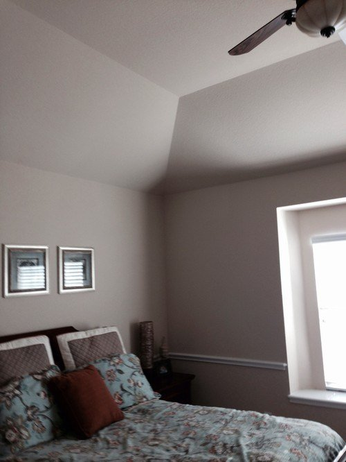 Best Painting Help For Slanted And Tray Ceiling With Pictures
