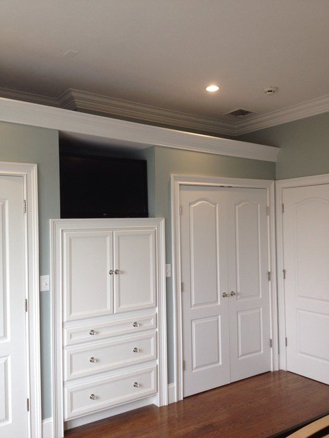 Best Built In Cabinets In Master Bedroom Traditional Closet Boston By Brosseau Construction With Pictures