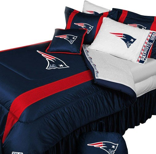 Best Nfl New England Patriots Comforter Pillowcase Football With Pictures