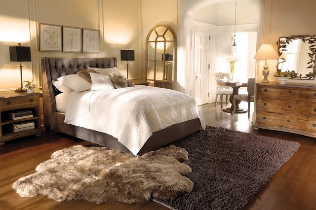 Best Devereaux Bed Eclectic Bedroom Cleveland By Arhaus With Pictures