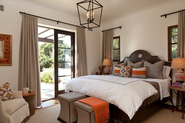 Best Montecito Andalusian Mediterranean Bedroom Santa With Pictures