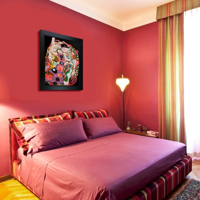 Best Oil Paintings For Bedrooms Contemporary Bedroom With Pictures