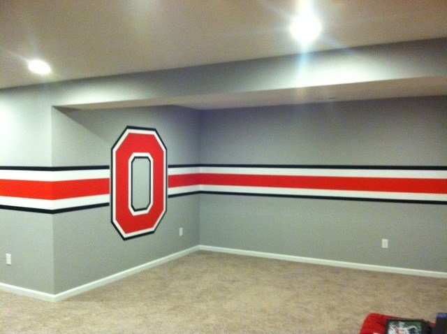 Best Ohio State Themed Basement With Pictures