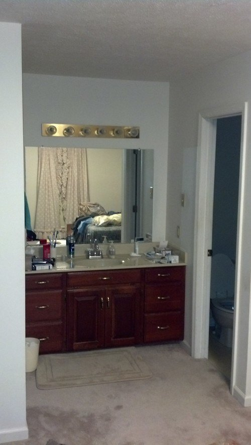 Best Help With Bathroom Sink And Vanity Located In Master Bedroom With Pictures