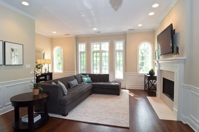 Best Lincoln Park 2 Bedroom Condo Transitional Living Room With Pictures