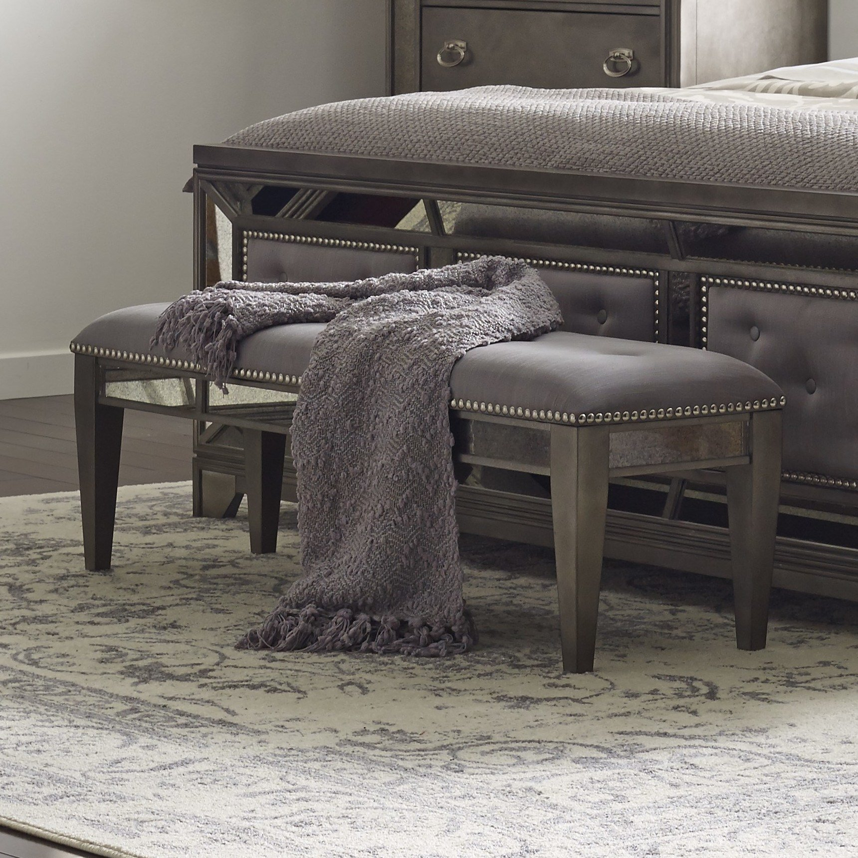Best Avalon Furniture Lenox Bedroom Bench Reviews Wayfair With Pictures