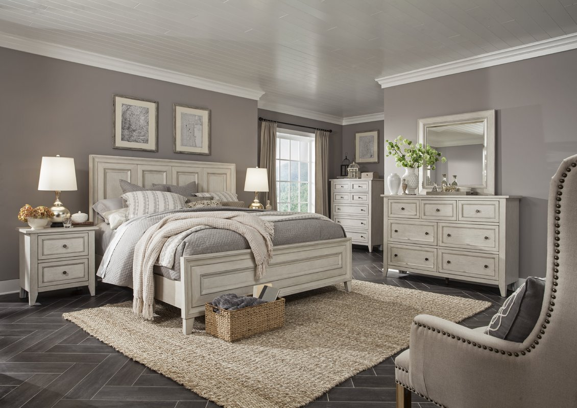Best Rosecliff Heights Stoughton Panel Customizable Bedroom Set With Pictures