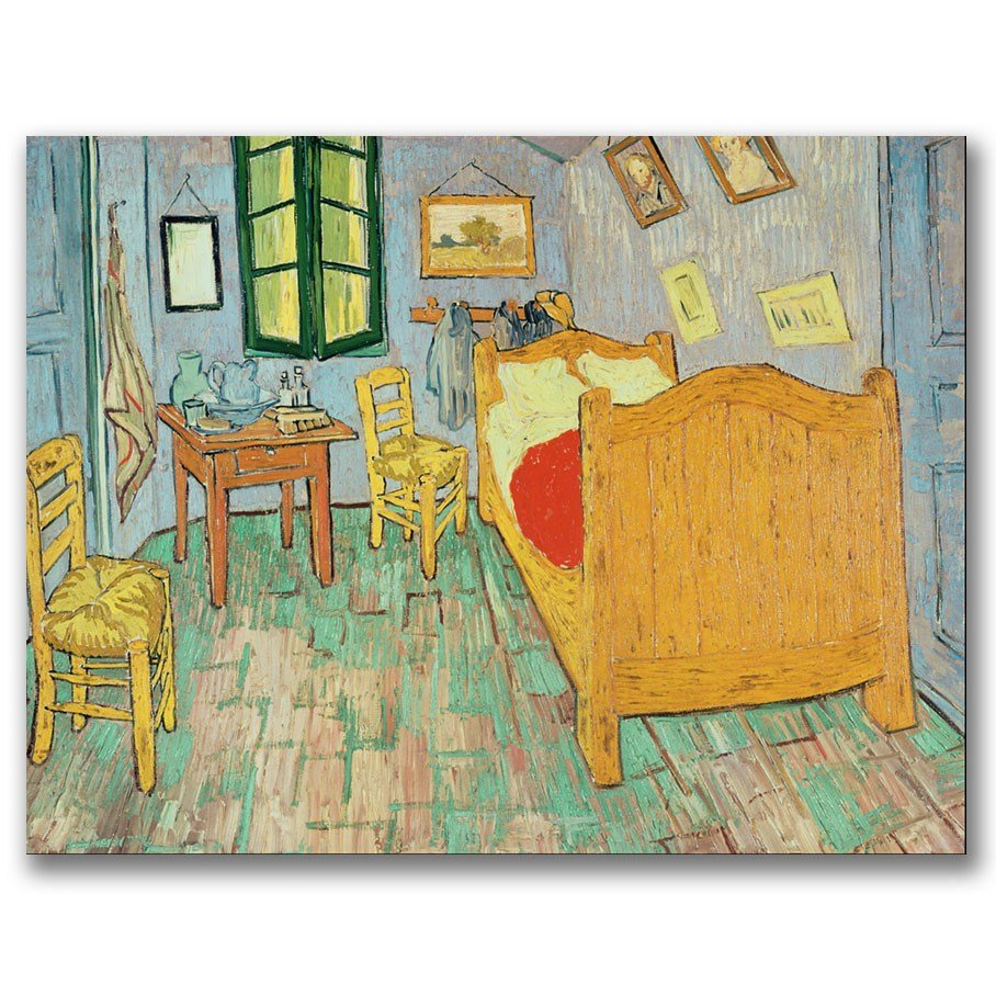 Best Trademark Art Van Gogh S Bedroom At Arles By Vincent Van With Pictures