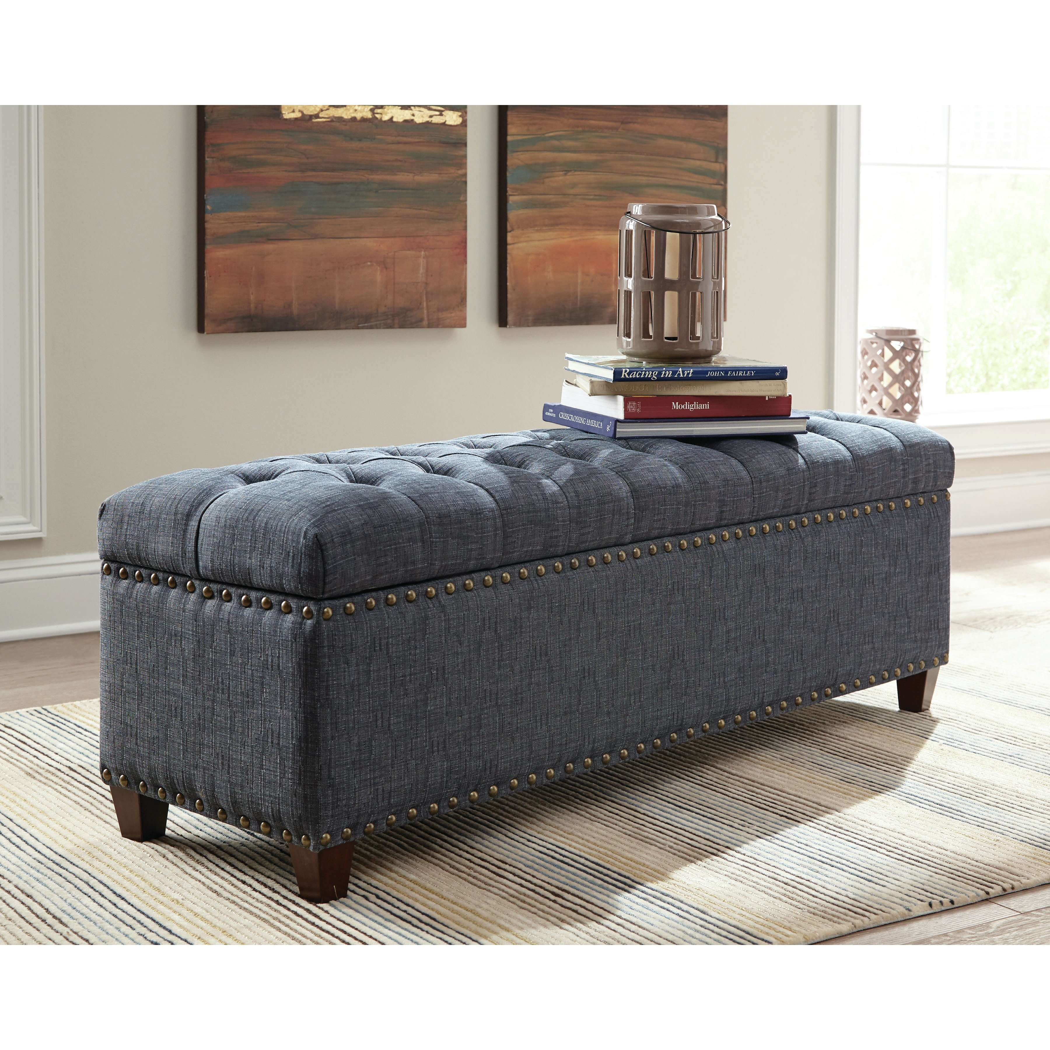 Best Donny Osmond Storage Bedroom Bench Reviews Wayfair With Pictures