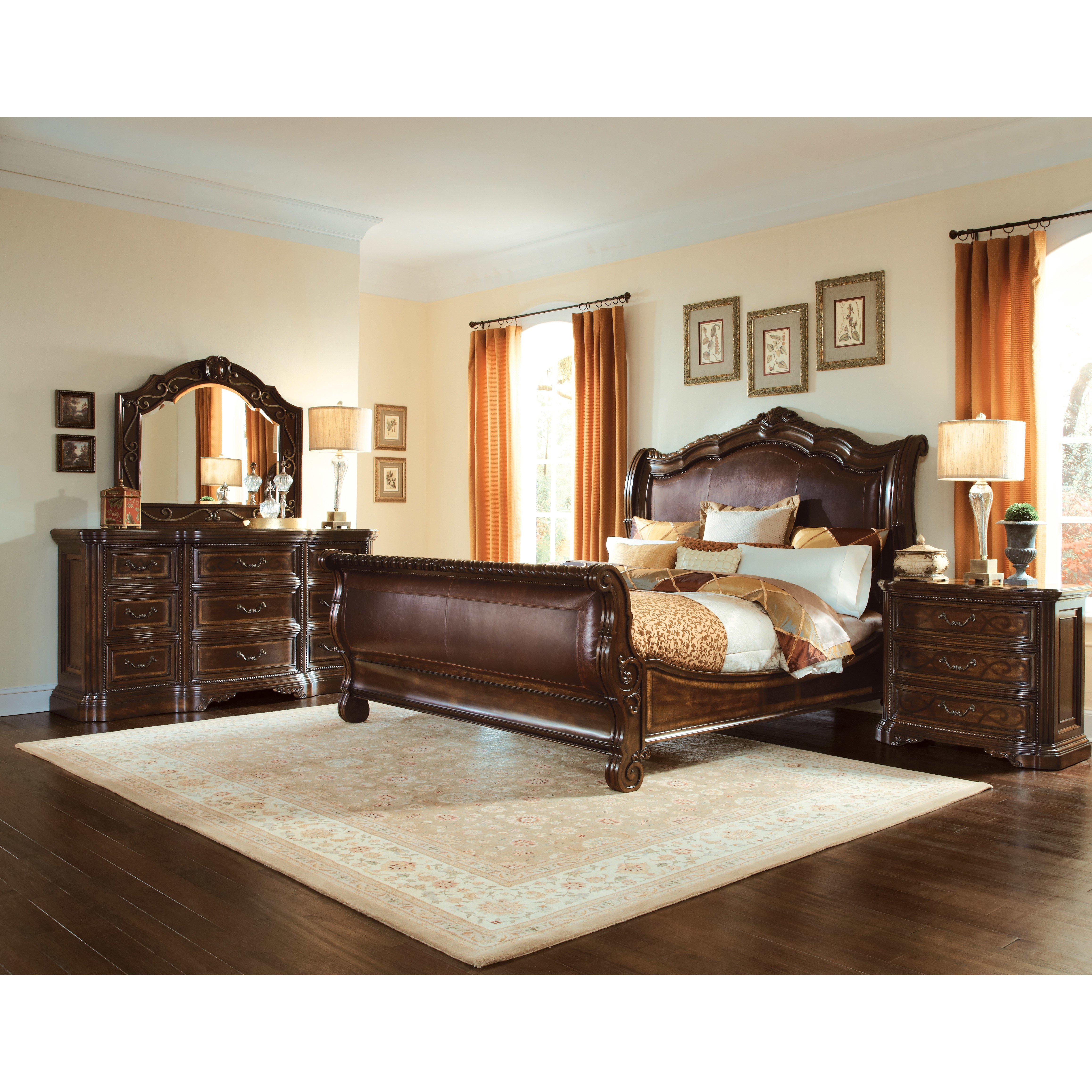 Best A R T Valencia Sleigh Customizable Bedroom Set Wayfair With Pictures
