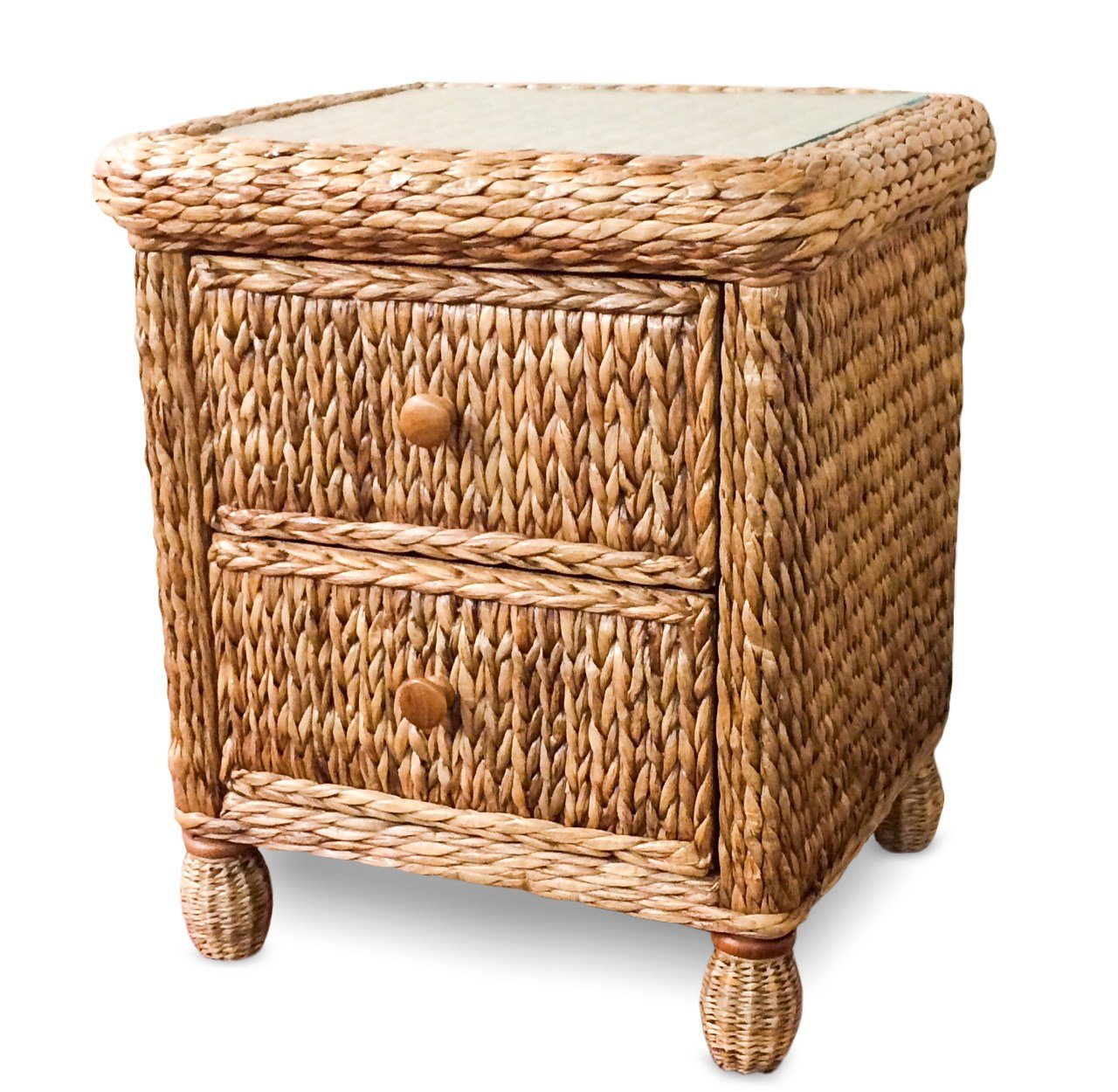 Best Seagrass Nightstand On Sale Miramar With Pictures