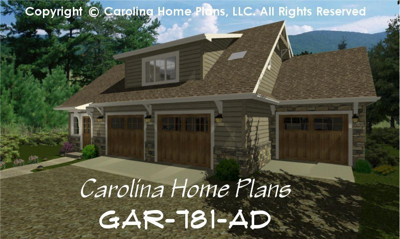 Best Craftsman Garage Apartment Plan Gar 781 Ad Sq Ft Small With Pictures