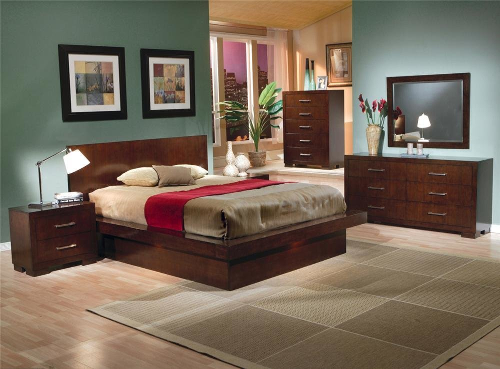 Best Modern Contemporary Bedroom Set Jessica Collection With Pictures