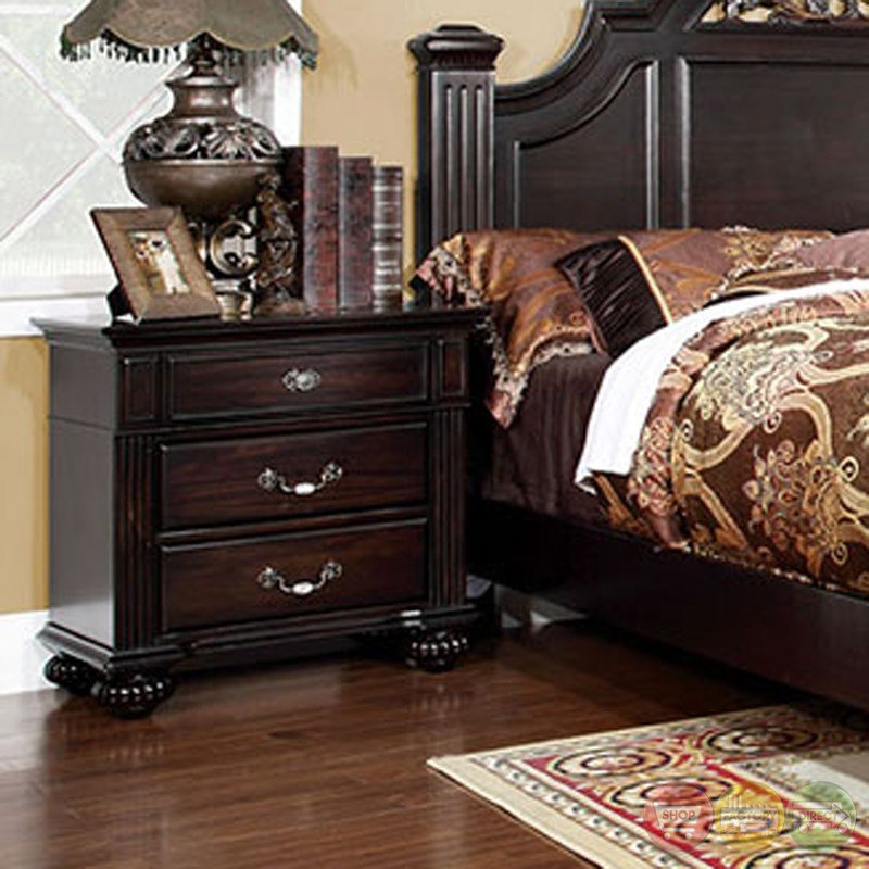 Best Dark Walnut Bedroom Set Syracuse Bedroom Set Shop With Pictures