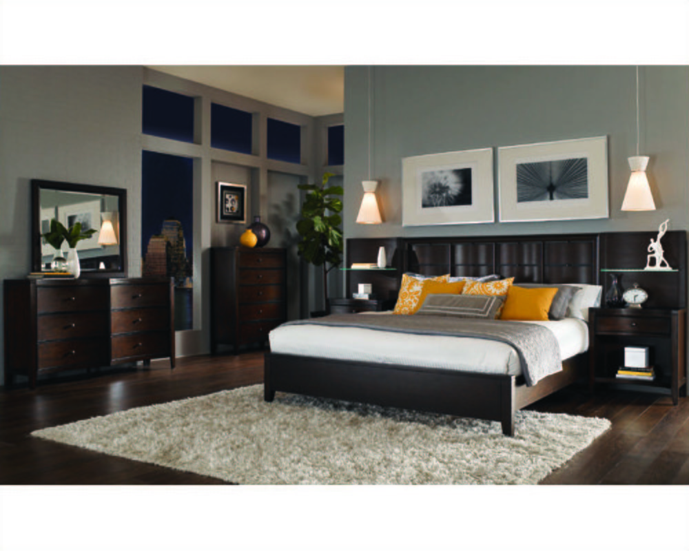Best Aspenhome Bedroom W Panel Bed Wall Contour Asi11 427 2967Set With Pictures